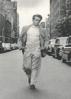 Juliste James Dean - Walking