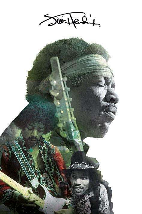 Juliste Jimi Hendrix - Double Exposure