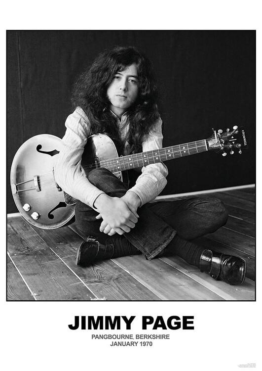 Juliste Jimmy Page - January 1970 Berkshire