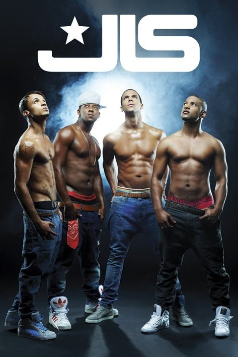 Juliste JLS - shirtless