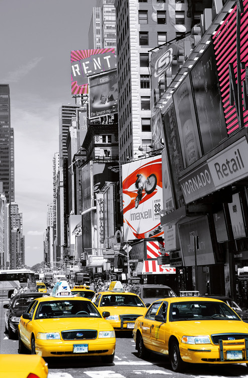 Juliste JOHN LAWRENCE - times square II