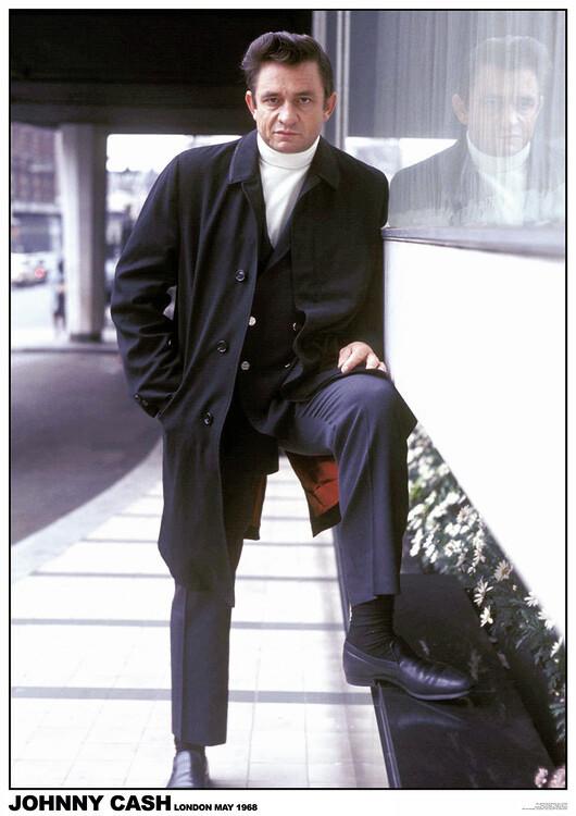 Juliste Johny Cash - London 1968