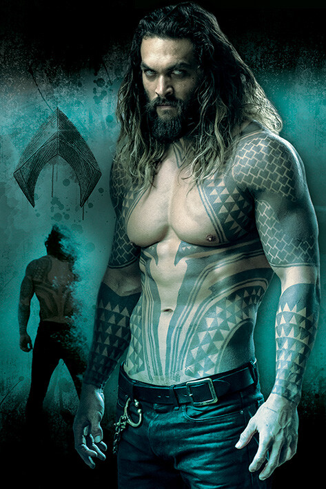 Juliste Justice League - Aquaman