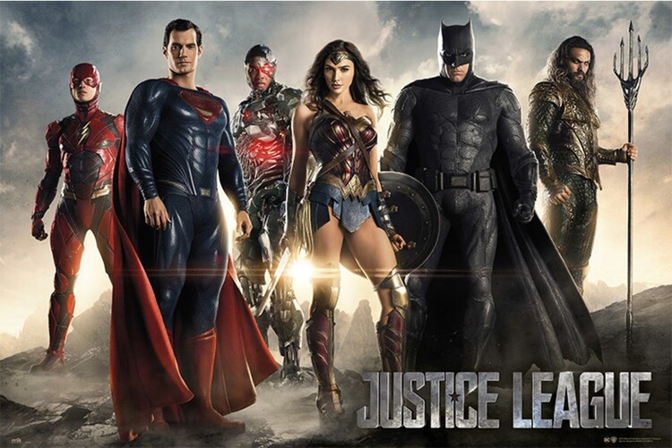 Juliste Justice League - Group