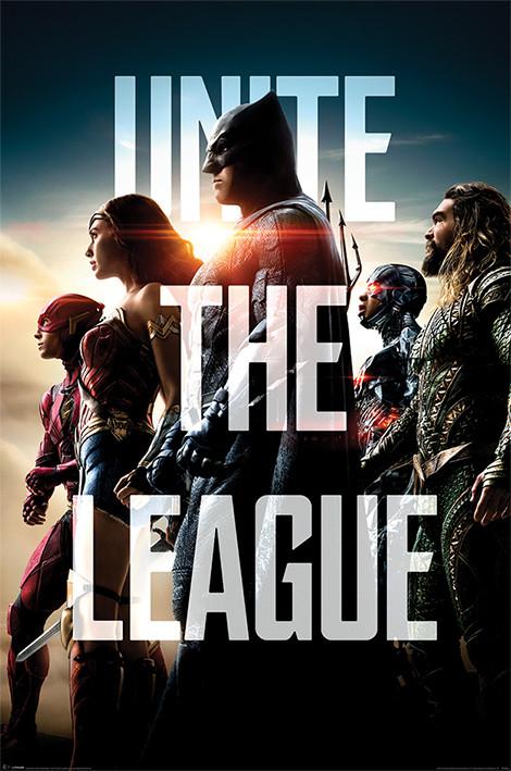 Juliste  Justice League - Unite The League