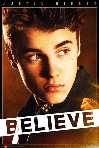 Juliste  Justin Bieber - believe