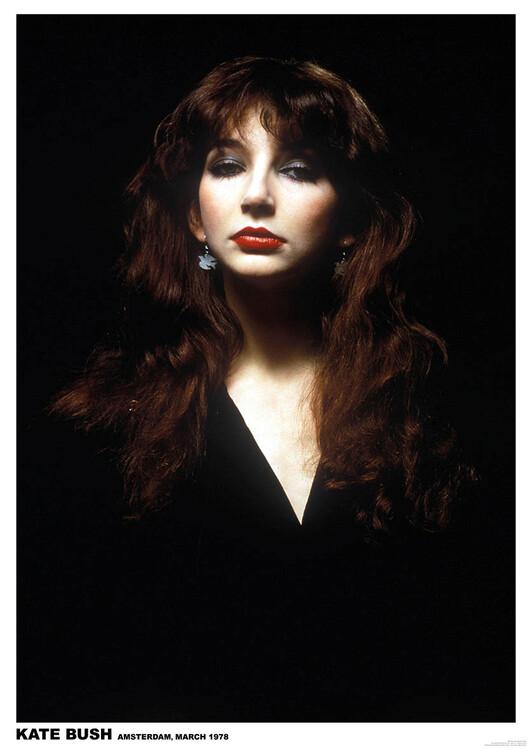 Juliste Kate Bush - Amsterdam 1978