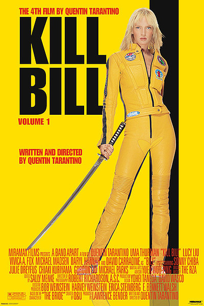 Juliste Kill Bill Volume 1 - Uma Thurman