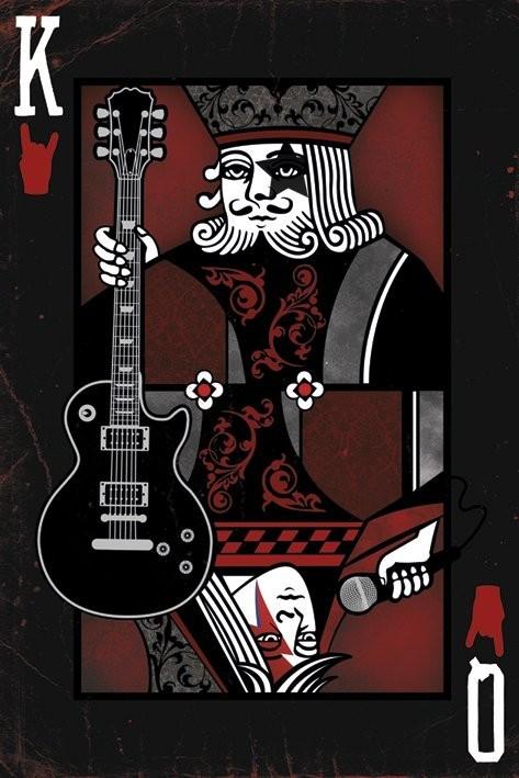 Juliste King / Queen of the rock