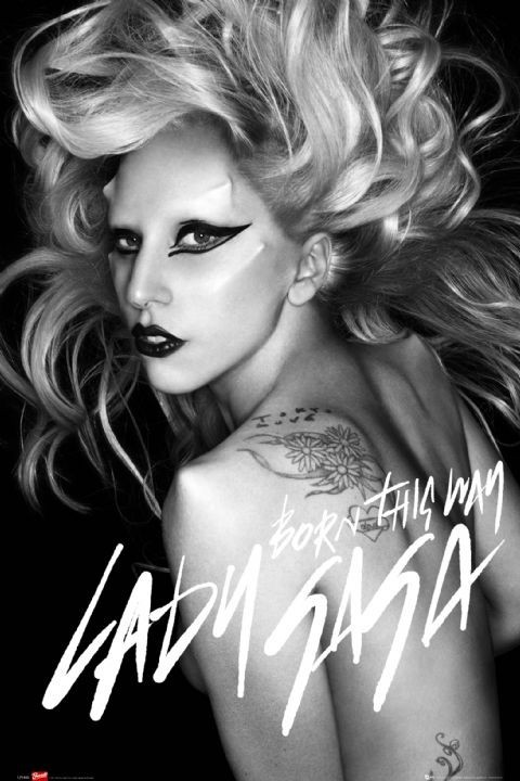 Juliste  Lady Gaga - born this way
