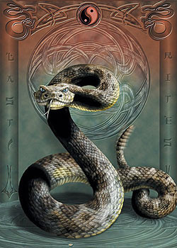 Juliste Last rites - had / yin yang