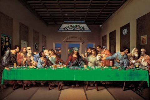 Juliste Last supper