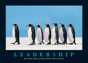 Juliste Leadership