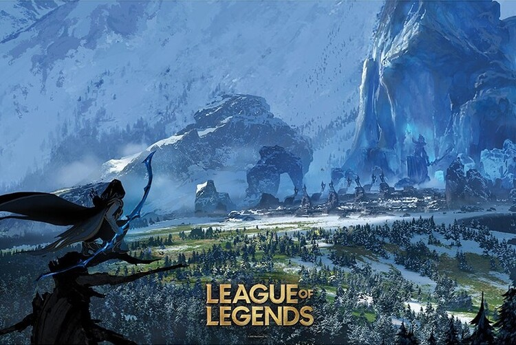 Juliste League of Legends - Freljord