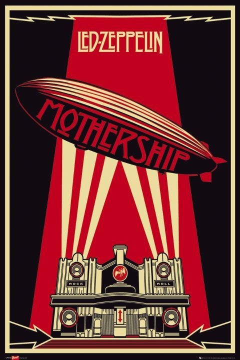 Juliste Led Zeppelin - mothership