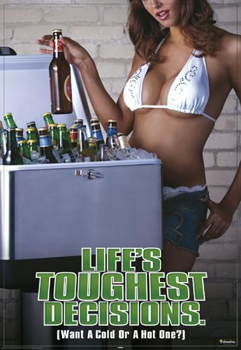 Juliste Life is toughest decisions
