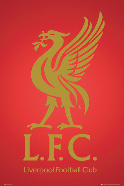 Juliste Liverpool - club crest 2013