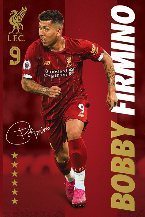 Juliste Liverpool FC - Bobby Firmino