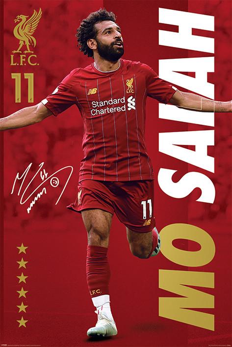 Juliste Liverpool FC - Mo Salah