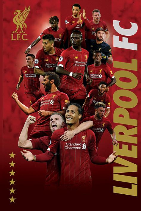 Juliste Liverpool FC - Players 2019-20