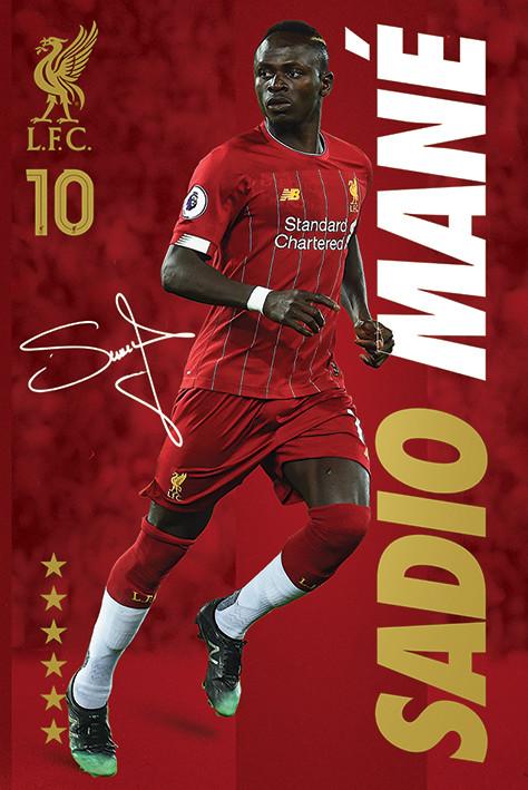 Juliste Liverpool FC - Sadio Mane