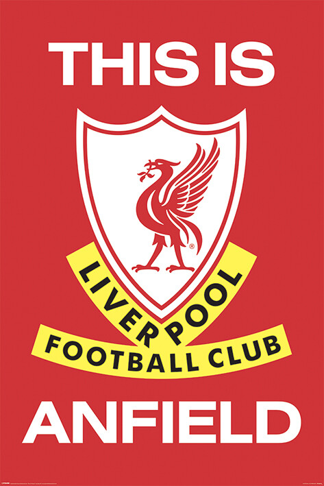 Juliste Liverpool FC - This Is Anfield