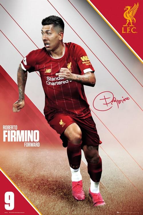Juliste Liverpool - Firmino 19-20
