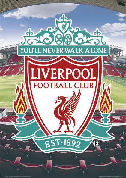 Juliste Liverpool - football crest
