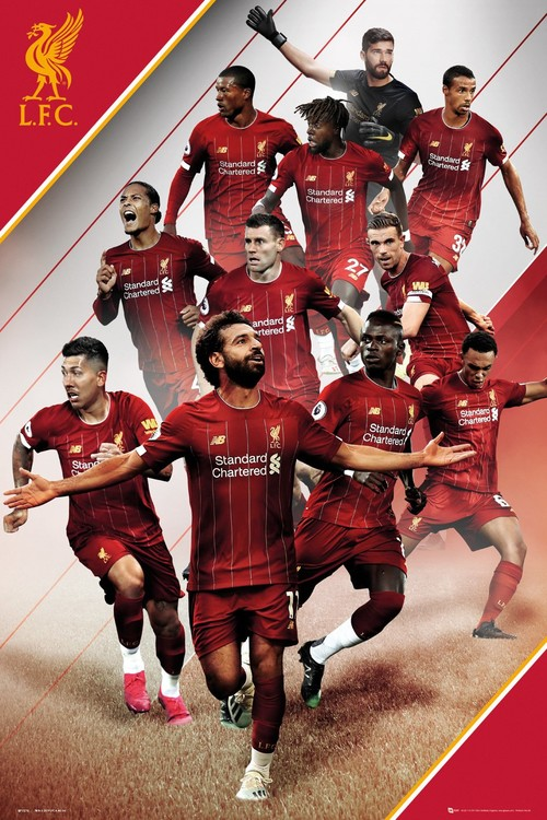 Juliste Liverpool - Players 19-20