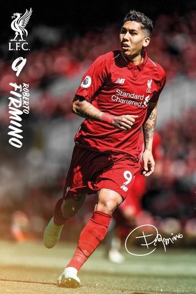 Juliste  Liverpool - Roberto Firmino 18/19