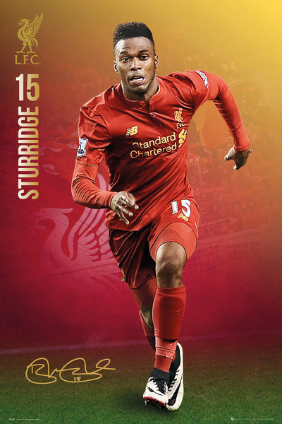 Juliste Liverpool - Sturridge 16/17
