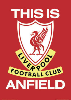 Juliste  Liverpool - this is anfield