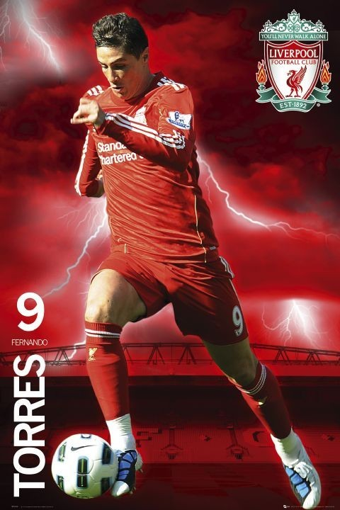 Juliste Liverpool - torres 2010/2011