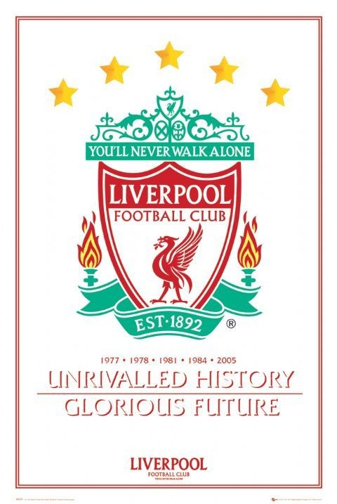 Juliste Liverpool - unrivalled history