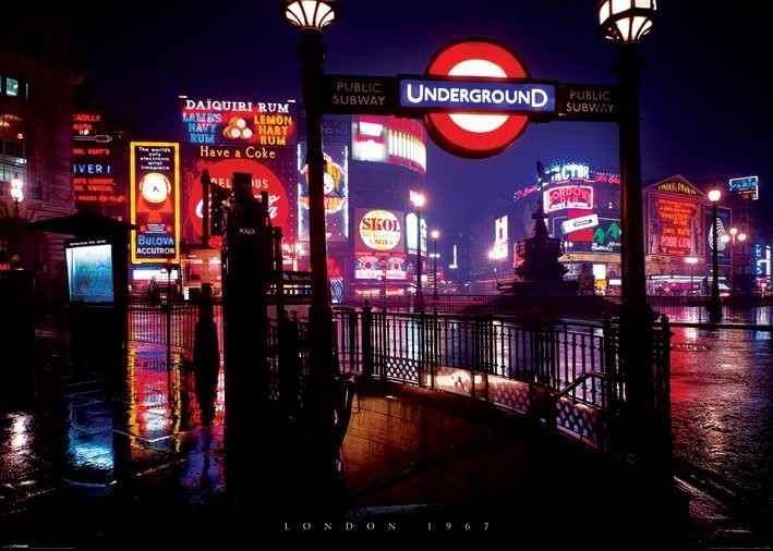 Juliste Lontoo 1967