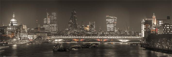 Juliste Lontoo - Skyline