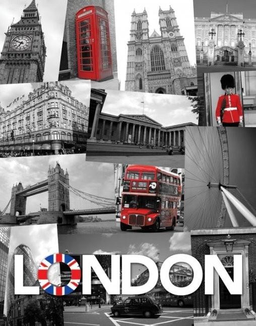 Juliste Lontoo - union jack