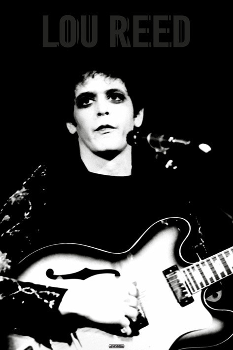 Juliste Lou Reed
