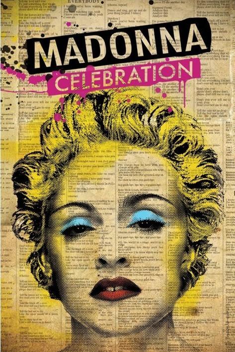 Juliste Madonna - celebration