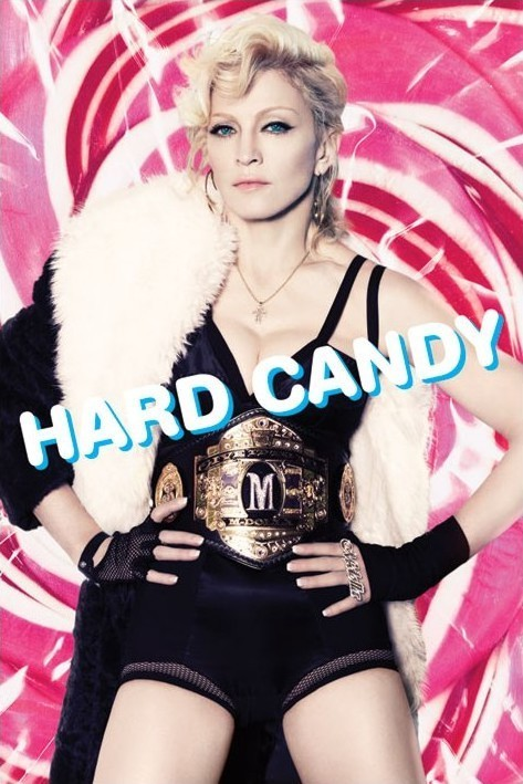 Juliste Madonna - hard candy