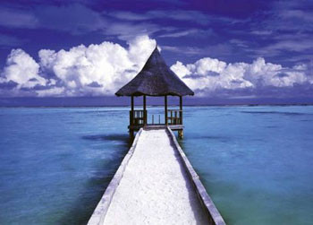 Juliste Maledives - hut