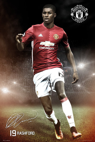 Juliste  Mancherster United - Rashford 16/17