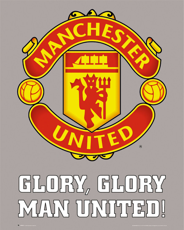 Juliste Manchester United - club crest