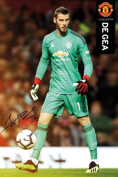 Juliste  Manchester United - De Gea 18-19