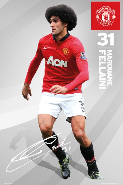 Juliste Manchester United - fellaini 13/14