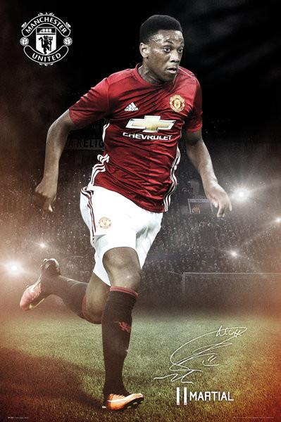 Juliste Manchester United - Martial 16/17