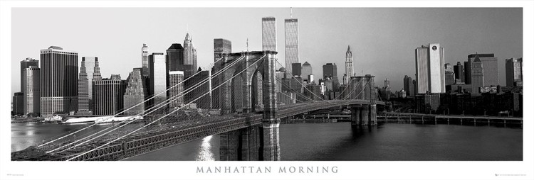 Juliste Manhattan - morning