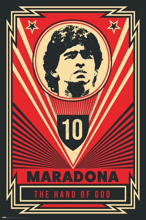 Juliste Maradona - The Hand Of God