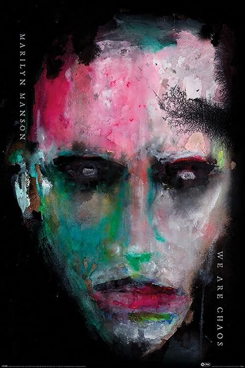 Juliste Marilyn Manson - We Are Chaos