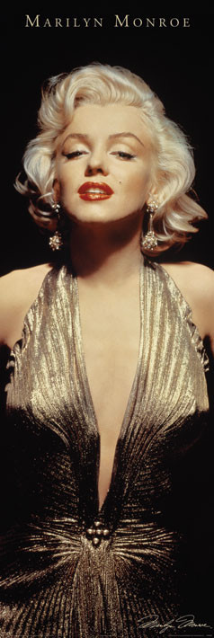 Juliste MARILYN MONROE - gold